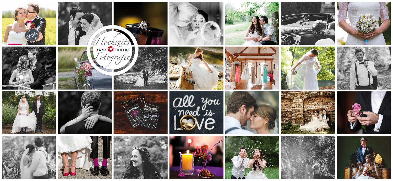 Braunschweig Hochzeitsfotografin Collage