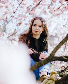 Portraitfotograf Braunschweig – Kirschblüte