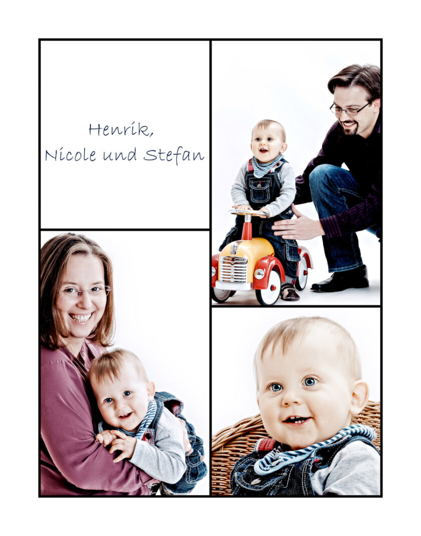 Familien-Weihnachts-Shoots